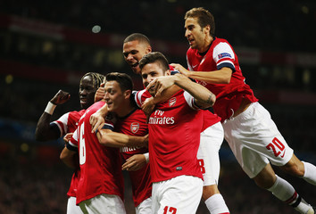 Arsenal v SSC Napoli - UEFA Champions League Group Stage Matchday Two Group F