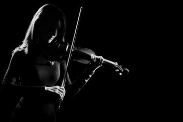 Violin player violinist classical music concert