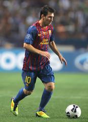 FC Barcelona v FC Porto UEFA Super Cup Final 2011