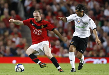 Manchester United v Valencia Pre Season Friendly