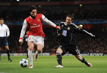 Arsenal v FK Partizan Belgrade UEFA Champions League Group Stage Matchday Six Group H