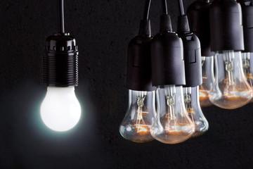 Экономия электроэнергии за счёт применения современных ламп освещения