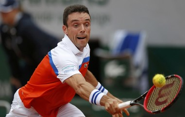 Tennis - French Open - Roland Garros - Novak Djokovic of Serbia v Roberto Bautista Agut of Spain