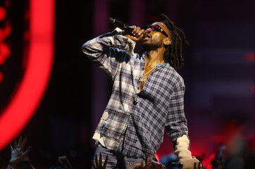 Jazz Cartier performs at the iHeartRadio MuchMusic Video Awards in Toronto