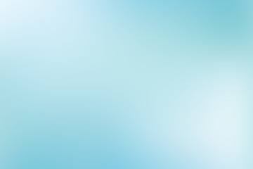 Turquoise blue gradient abstract background
