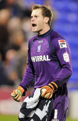 Oldham Athletic v Tranmere Rovers - npower Football League One