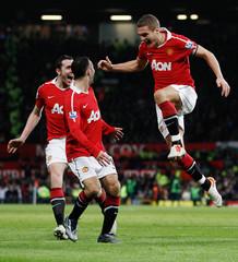 Manchester United v Aston Villa Barclays Premier League