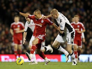 Fulham v West Bromwich Albion Barclays Premier League
