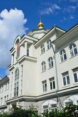 Москва, Тессинский переулок, дом 3. Негосударственное образовательное учреждение, средняя общеобразовательная школа - Традиционная гимназия
