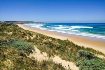 Ocean view at Woolamai Beach on Phillip Island, Victoria, Australia