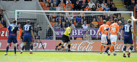 Blackpool v Nottingham Forest Coca-Cola Football League Championship Play Off Semi Final First Leg