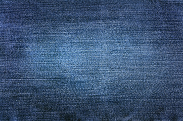 Blue Denim Fabric Abstract