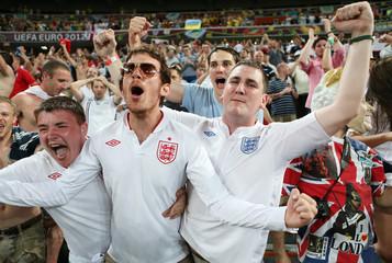 England v Ukraine - UEFA EURO 2012 Group D