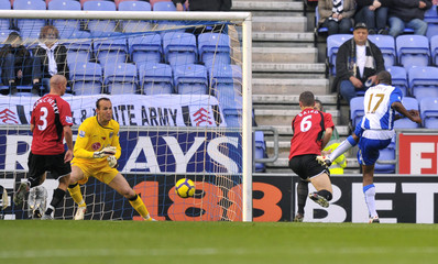 Wigan Athletic v Fulham Barclays Premier League