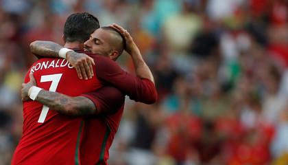 Football Soccer - Portugal v Estonia- International Friendly