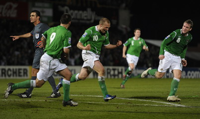 Northern Ireland v Slovenia 2010 World Cup Qualifying European Zone - Group Three