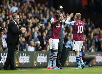 Aston Villa v Manchester City - Barclays Premier League
