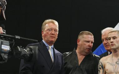 Roman Martinez v Ricky Burns WBO Super-Featherweight Title