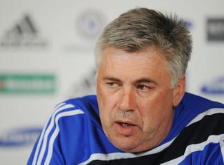 Chelsea - Carlo Ancelotti Press Conference