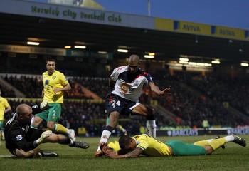Norwich City v Bolton Wanderers Barclays Premier League