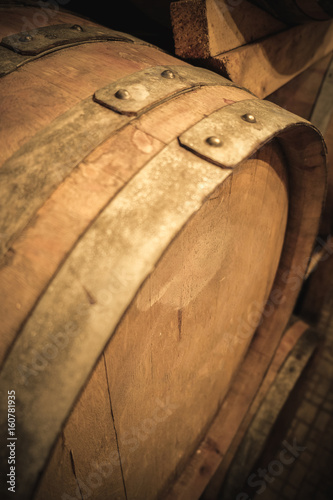Used Wine Barrel Detail Stock Photo And Royalty Free Images On