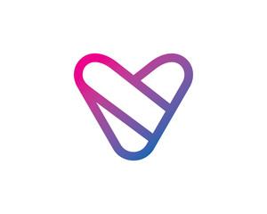Letter V Logo Template Design Vector, Emblem, Design Concept, Creative Symbol, Icon