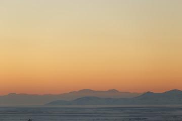 Sunset Utah Mountains