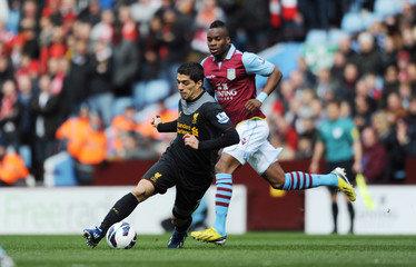 Aston Villa v Liverpool - Barclays Premier League