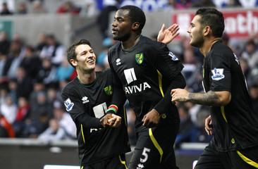 Swansea City v Norwich City - Barclays Premier League