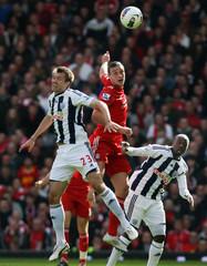 Liverpool v West Bromwich Albion Barclays Premier League