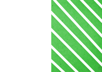 green geometric background/wallpaper illustration for  A4 paper size.