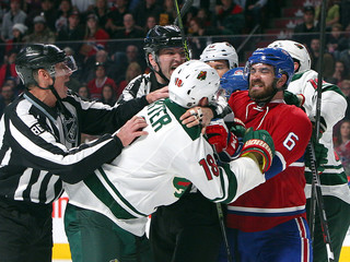 NHL: Minnesota Wild at Montreal Canadiens