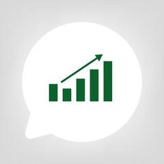 Kreis Sprechblase - Statistik Aufstieg