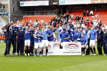 Dundee United v Rangers Clydesdale Bank Scottish Premier League