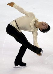 Japan's Murakami competes during the Men short program at the ISU Bompard Trophy Figure Skating competition in Bordeaux