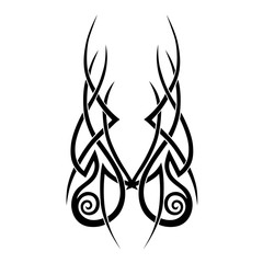 Tattoo designs. Tattoo tribal vector designs. Art tribal tattoo. Tattoos ideas. Creative tattoo ornament vector.