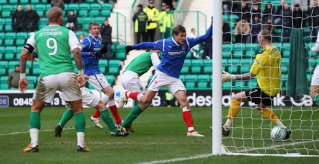 Hibernian v Rangers Clydesdale Bank Scottish Premier League