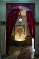 arab style interior house at morocco