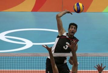 Volleyball - Men's Preliminary - Pool B Iran v Egypt