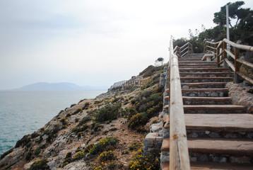 Escaleras enrevesadas