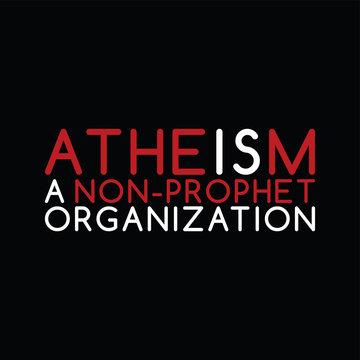 atheism theme - against religious ignorance campaign