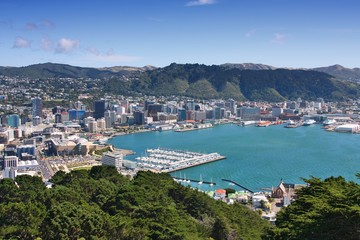 Foto auf Acrylglas Neuseeland Wellington, New Zealand