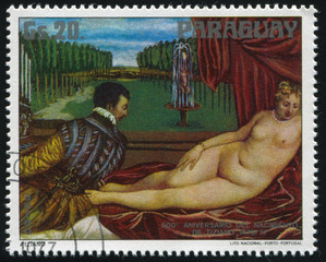Venus and Organist by Titian