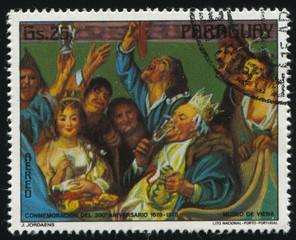 Feast for a King by Jordaens