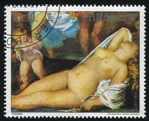 Bacchanal by Titian