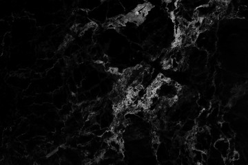 Black marble nature texture and background for design pattern.