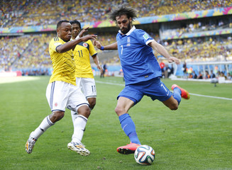 Colombia v Greece - FIFA World Cup Brazil 2014 - Group C