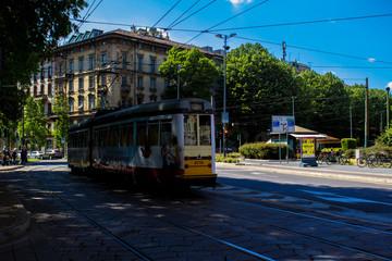 Per le vie di Milano