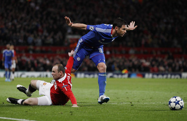 Manchester United v Chelsea UEFA Champions League Quarter Final Second Leg