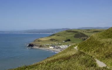 Aberystwyth seaside resort, Cardigan Bay